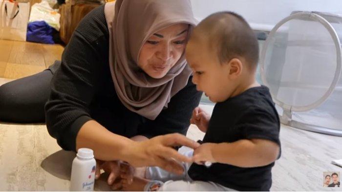 Kiano Anak Baim Wong Terpapar Flu Singapura,Paula Panik Lihat Bintik-bintik Merah di Tubuh Putranya