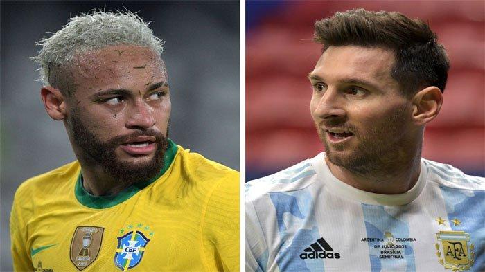 Live Indosiar Final Copa America 2021, Argentina vs Brasil, Obsesi Lionel Messi