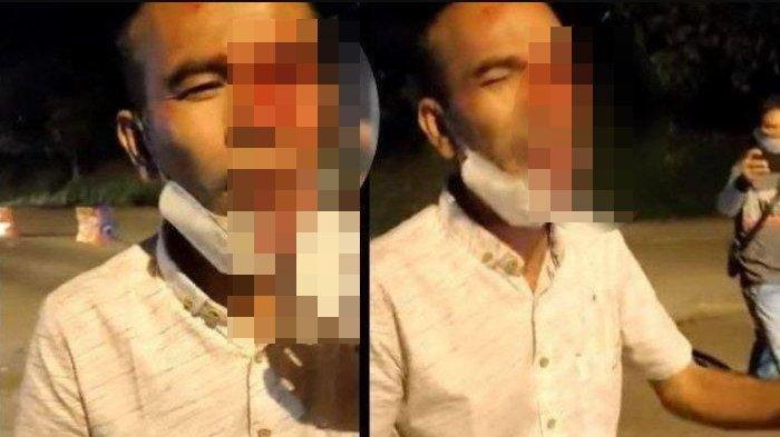 Berdarah Ngaku Ditusuk Pulpen di Pos PPKM Padang, Video Eks Anggota Dewan, Polisi Ungkap Fakta Beda