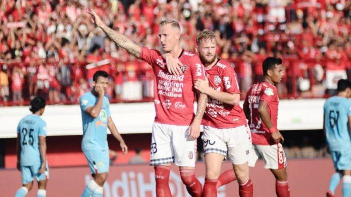 Hasil Akhir Bali United Vs Persela Lamongan Liga 1 2018, Serdadu Tridatu Tambah 3 Poin