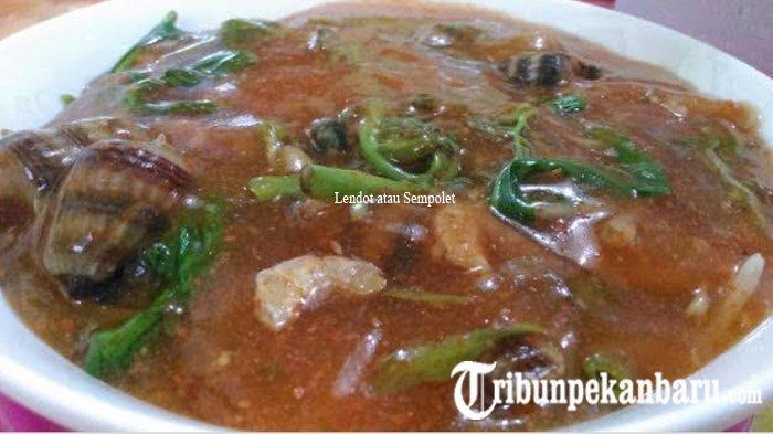 Nikmati Berbuka Puasa dengan Sayur Seafood Lendot atau Sempolet Makanan Khas dari Kuala Kampar Riau