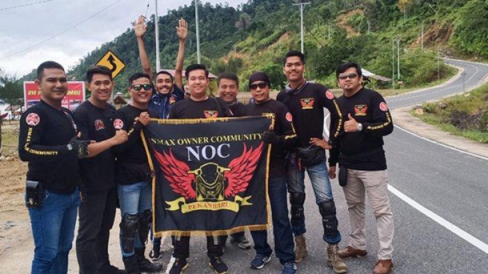 Nmax Owner Community Pekanbaru Berganti Nama Menjadi NOC, Eka: Kita Sudah Berskala Nasional