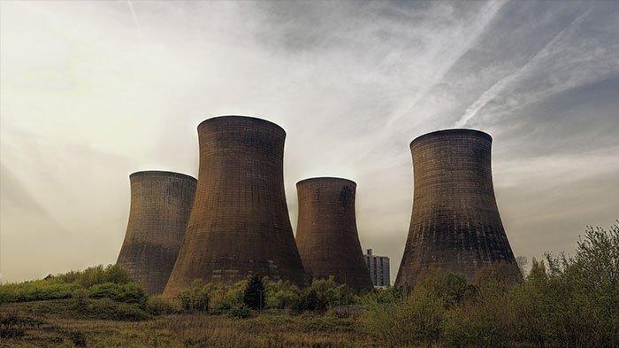nuklir ilustrasi
