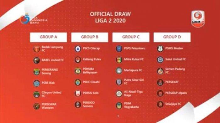 Hasil Drawing Liga 2 2020, PSPS Riau Ada di Grup C dan Jadi Tuan Rumah