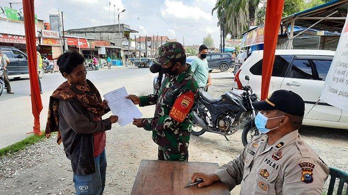 Operasi Yustisi Terus Dilaksanakan di Siak, Beri Sanksi Warga yang Abaikan Protokol Kesehatan