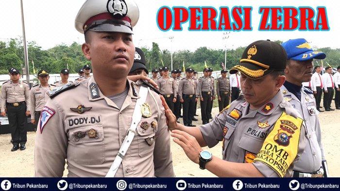 Operasi Zebra 2019, Polres Kepulauan Meranti Mulai Tanggal 5 November Polres Bengkalis Gelar Pasukan