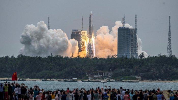 UPDATE Lokasi Roket China Seberat 18 Ton Hancur di Samudra Hindia: Puing-Puing Raksasa Bertebaran