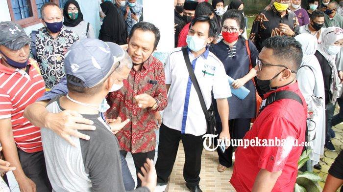 Diduga CURANG Dalam Proses PPDB, Kepala SMA Negeri 8 Pekanbaru : Demi Allah Kami Tidak Bermain