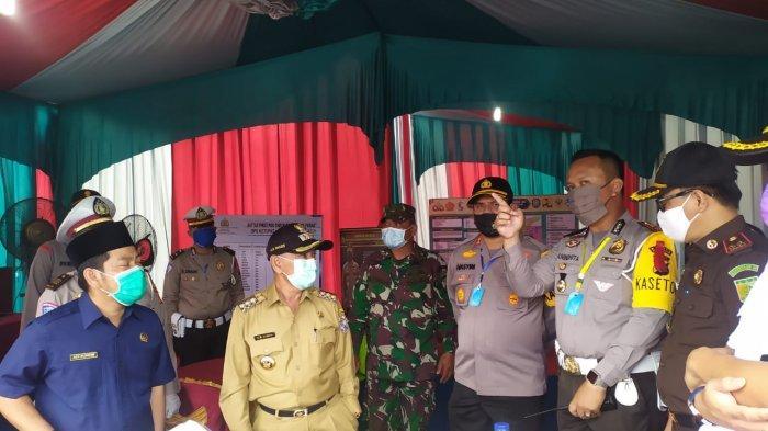 Tambah 2 Posko Cek Poin di Jalan Koridor RAPP, Perbatasan Pelalawan Riau Dijaga Ketat Selama PSBB
