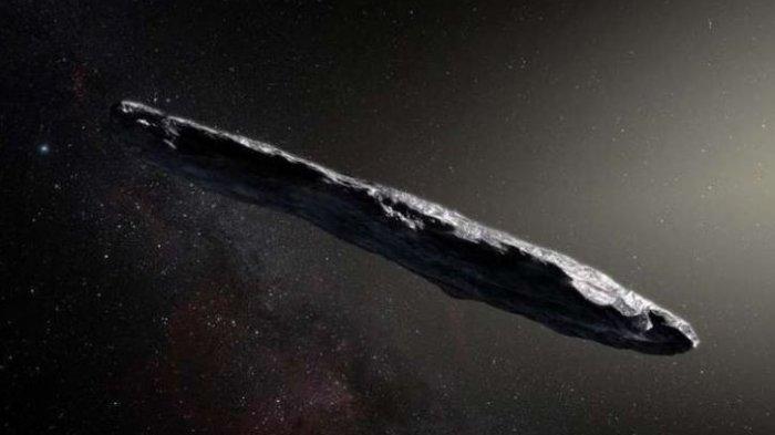 Oumuamua, Objek Aneh Luar Angkasa Mirip Asteroid Ini Diyakini Sebagai Pesawat Alien