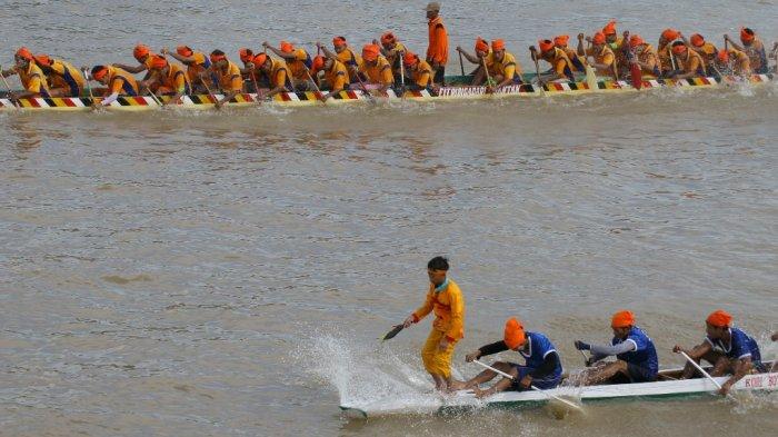 Pacu Jalur Rayon I Kuansing Riau, Jalur Pangeran Hilir Rantau Kuantan Juara