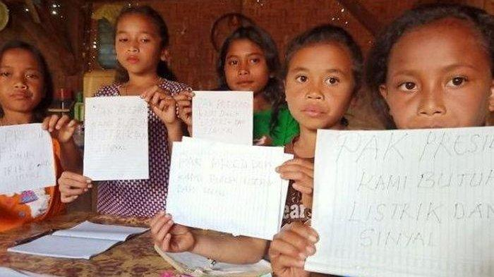 Pak Jokowi, Anak SD di NTT Minta Listrik, Mereka Bingung Internet Itu Apa, Modelnya Seperti Apa