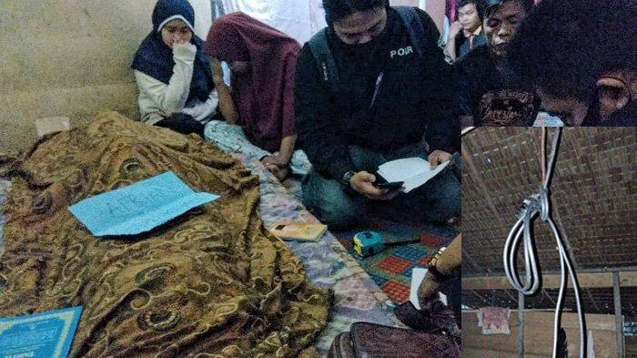 Pak RT di Inhil Terkejut Lihat Sosok Tubuh Tergantung di Pondoknya, Wajah Korban Sudah Membiru