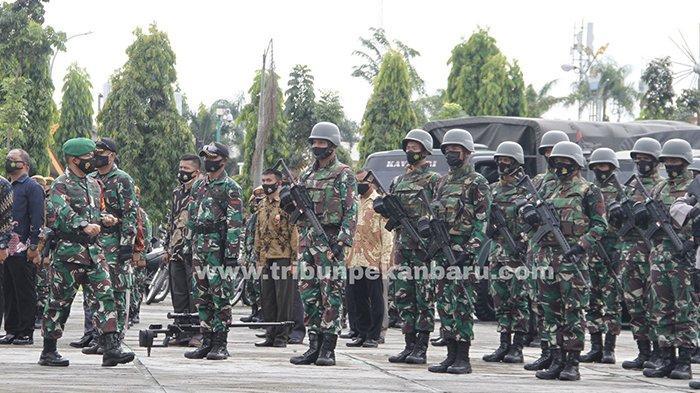 Pengamanan Kunjungan Jokowi ke Riau,Berapa Personel TNI dan Polri Diterjunkan? Ini Kata Pangdam I/BB