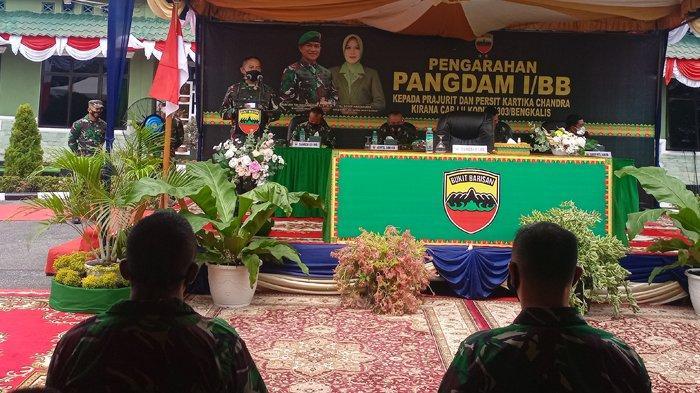 Pangdam I Bukit Barisan Mayjen Hassanudin Ingatkan Anggota TNI Jangan Terlibat dengan Barang Ilegal