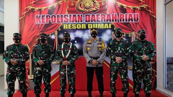 Pangdam I/Bukit Barisan Tersanjung Kunjungi Polres Dumai, Kenapa Ya?