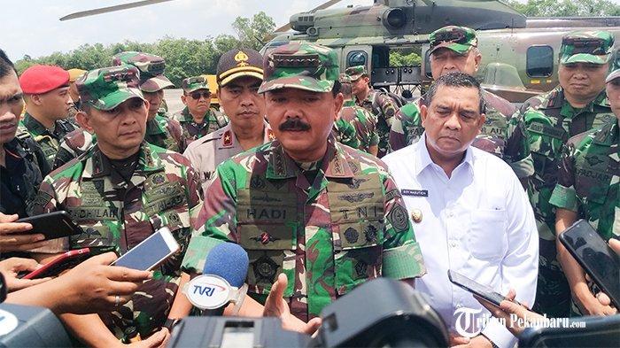 Daftar Lengkap Mutasi Perwira TNI AU, TNI AD dan TNI AL Oleh Panglima TNI Marsekal Hadi Tjahjanto