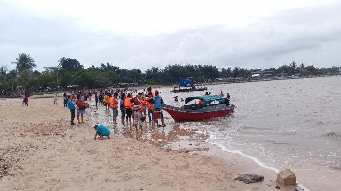 Wisata Laut di Riau, Nikmati Semilir Angin Pantai Koneng, Indahnya Bersama Keluarga di Akhir Pekan