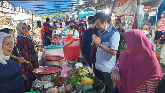 Pantau Jual Beli di Pasar Kodim, Wakil Ketua DPRD Pekanbaru: Semua Berjalan dengan Baik
