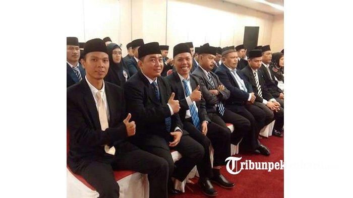 Sebanyak 36 Panwascam Terpilih Resmi Dilantik Panwaslu Pekanbaru