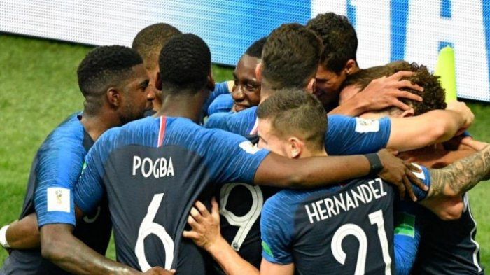 UPDATE Babak Pertama Perancis vs Kroasia di Final Piala Dunia 2018, Perancis Unggul 2-1