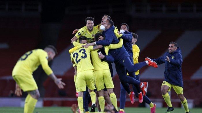 Hasil Semifinal Liga Eropa Arsenal Gagal ke Final #ArtetaOut Menggema, Villarreal Hadapi MU di Final