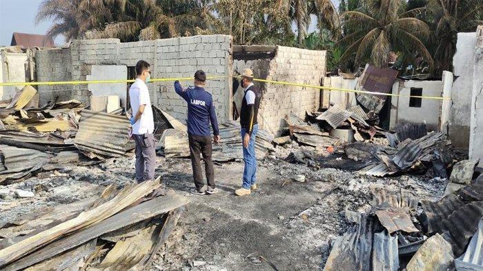 Penyebab Kebakaran Pasar di Kampar, Labfor Polda Riau Sebut Pemicu Api Berasal Dari Tempat Ini