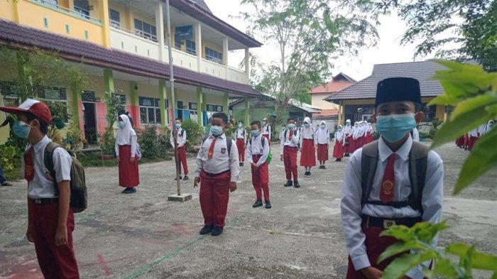 SOP Proses Belajar Mengajar Tatap Muka di Sekolah untuk Wilayah Kota Pekanbaru