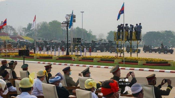 TEGAS, Junta Militer Peringatkan Beberapa Negara Tak Ikut Campur Kedaulatan Myanmar