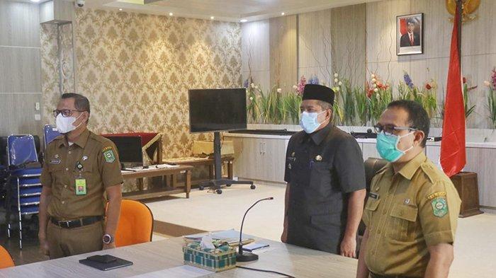 Fraksi Sampaikan Pandangan Umum Ranperda LPJ APBD Siak 2020, Bupati Siak Berharap Segera Disahkan