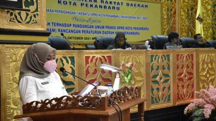 Paripurna Jawaban Pemerintah Tentang 6 Ranperda, DPRD Pekanbaru: Kita Gercep untuk Pengesahannya