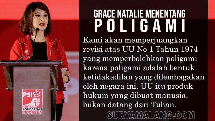 Aturan Poligami Menurut UU Perkawinan No 1/1974 yang Ditentang Ketua PSI Grace Natalie
