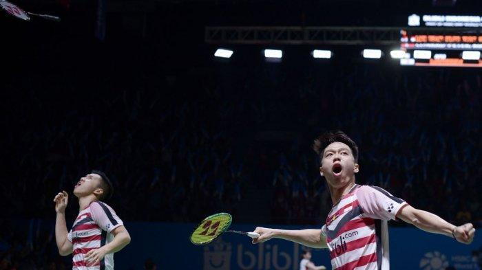 Tim Putra Indonesia di Piala Thomas 2020 Terpojok, Kalah 1-2 dari Tim Putra Thailand