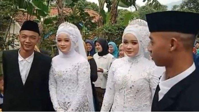 Kisah Pasangan Suami Istri Kembar, Pernah Tertukar Pasangan, Kaget saat Sebut Nama