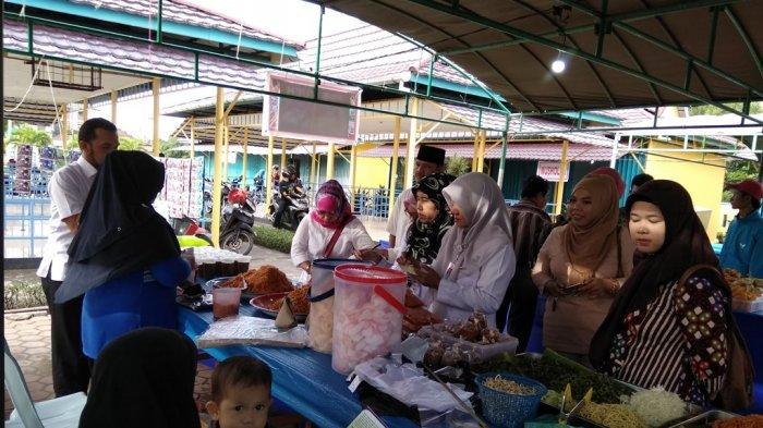 80 Personil Dishub Turun ke Sejumlah Pasar Ramadan, Ini yang Mereka Lakukan