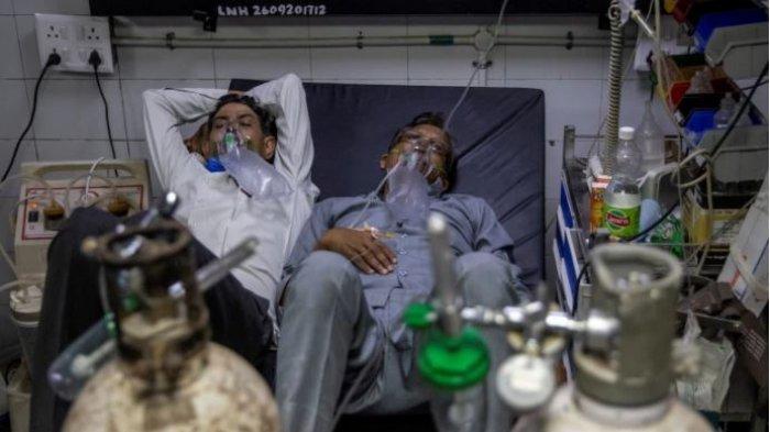 Wanita Di India Tewas Dua Jam Setelah Tabung Oksigennya Direbut Polisi Untuk Diberikan Ke Pasien VIP