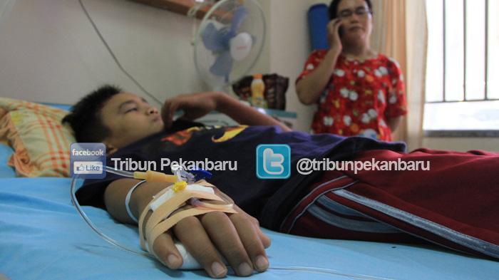 Anak-Anak Rentan Terserang DBD, Medio Agustus Ada 209 Kasus di Pekanbaru