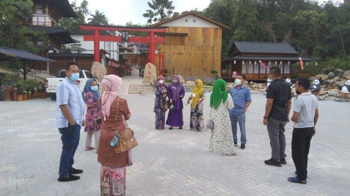 Pastikan Prokes, Pimpinan DPRD Pekanbaru Azwendi Bersama Satgas Covid-19 Turun ke Asia Heritage