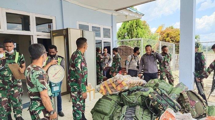 Satu Pleton Pasukan Dikerahkan Buru KKB Papua di  Pegunungan Bintang