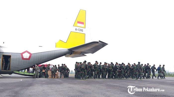 Danrem 031/Wira Bima Siagakan 1.000 Tentara untuk Tanggulangi Karhutla Riau