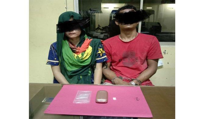 Rumah Kontrakan Digeledah, Polisi Temukan Narkotika Jenis Sabu, Pasutri di Kuansing Ditangkap
