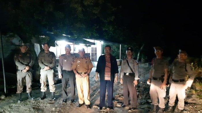 Petugas Satpol PP dan Polisi Dumai Gelar Patroli, Kafe Minuman Keras Mendadak Kosong