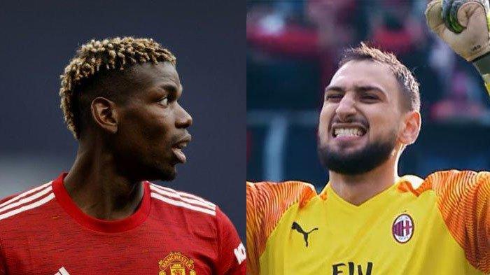 Liga Italia : Gianluigi Donnarumma, Paul Pogba segera Gabung Juventus, Cristiano Ronaldo jadi Tumbal