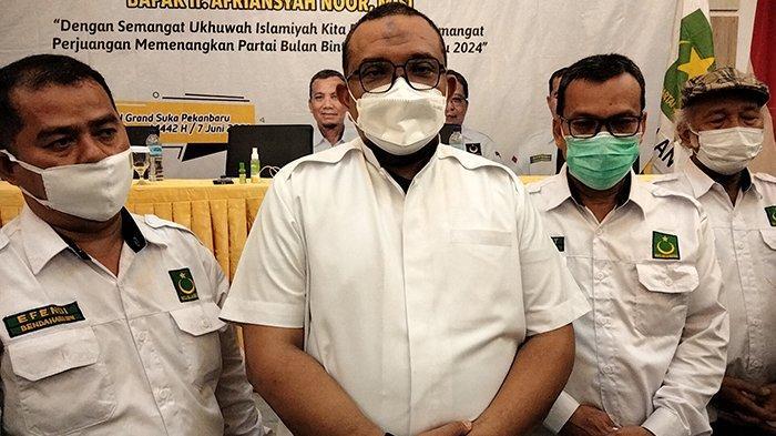 MS Kaban Pindah ke Partai Ummat,Adakah Kader Lain di Riau Turut Serta? Begini Kata Sekjen PBB Riau