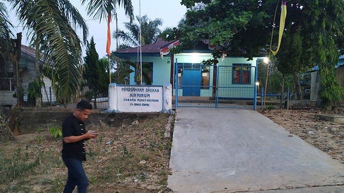 Debit Sungai Indragiri Inhu Riau Berkurang Drastis, Tak Pengaruhi Pasokan PDAM Tirta Indra