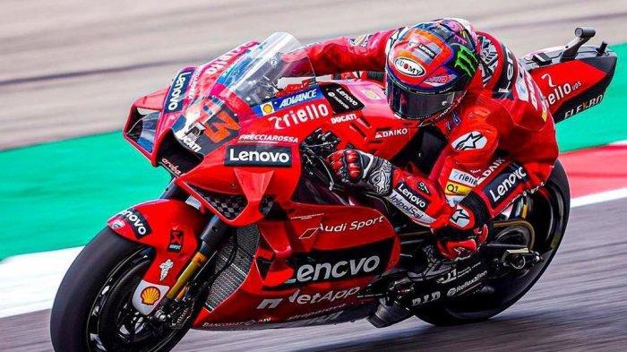 Hasil MotoGP 2021, Francesco Bagnaia Catat Rekor di Free Practice 3, Siap Geser Fabio Quartararo