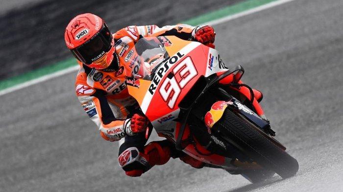 MotoGP Austria 2021 Sore Ini, Marc Marquez Buru-buru Angkat Tangan