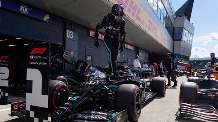 Lewis Hamilton Pole Position Formula 1 GP Britain, Siaran Langsung Formula 1 Hari Ini