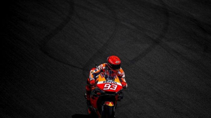 Marc Marquez Tampil Perdana di MotoGP Portugal 2021, Tapi Pesimis Bisa Tuntaskan Balapan