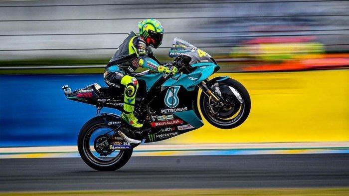 Pebalap Yamaha Petronas Valentino Rossi